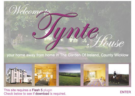 an award winning guest house in county Wicklow